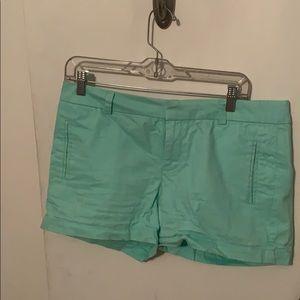 Mint Chino Shorts